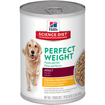 HILLS LATA PERRO ADULTO PERFECT WEIGHT 363 GRS